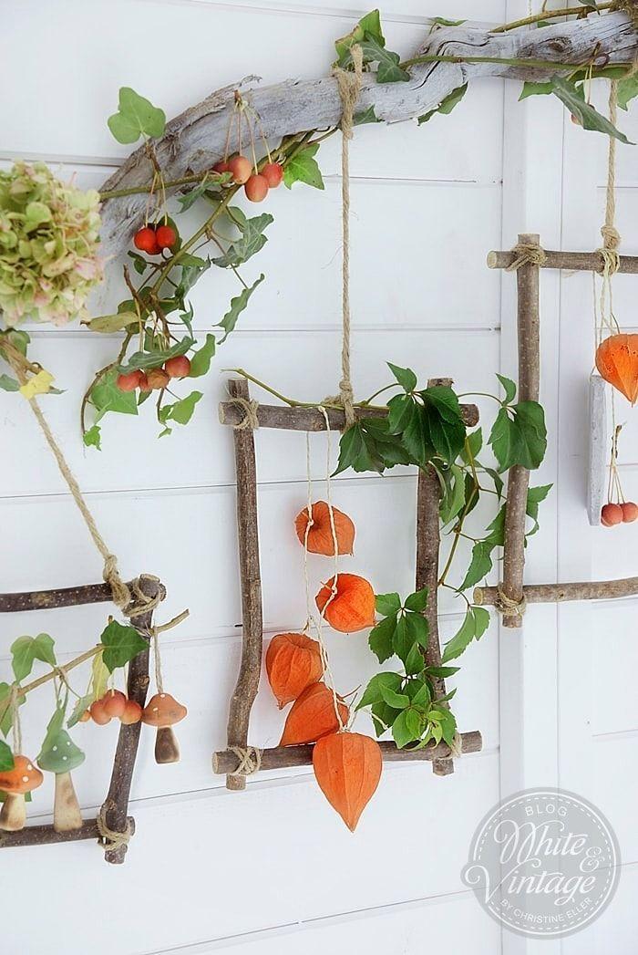 Herbstdeko - aus Naturmaterialien stimmungsvolle Dekorationen zaubern