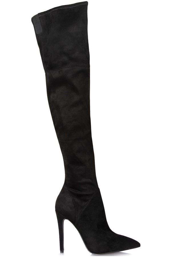 Ayla 2 Boots in Black from Kendall and Kylie