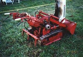Gravely track loader | gravely tractor | Tractors, Walk