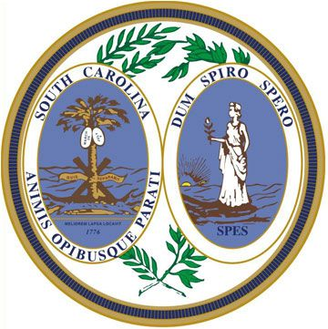 South Carolina State Symbols South Carolina S Great Seal See All