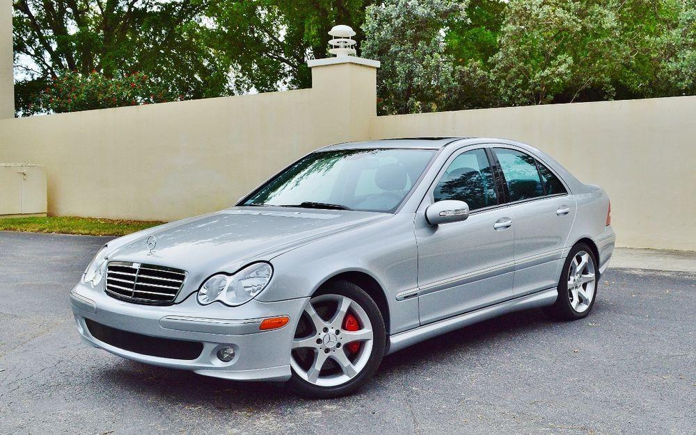 2007 MercedesBenz CClass C230 4dr Sedan 2.5L Sport RWD