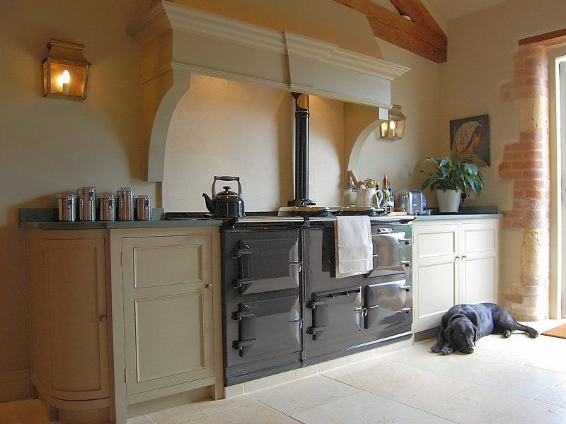 Kitchen Design With Range Cooker Habitat Joe Oak Bar Stool Galley