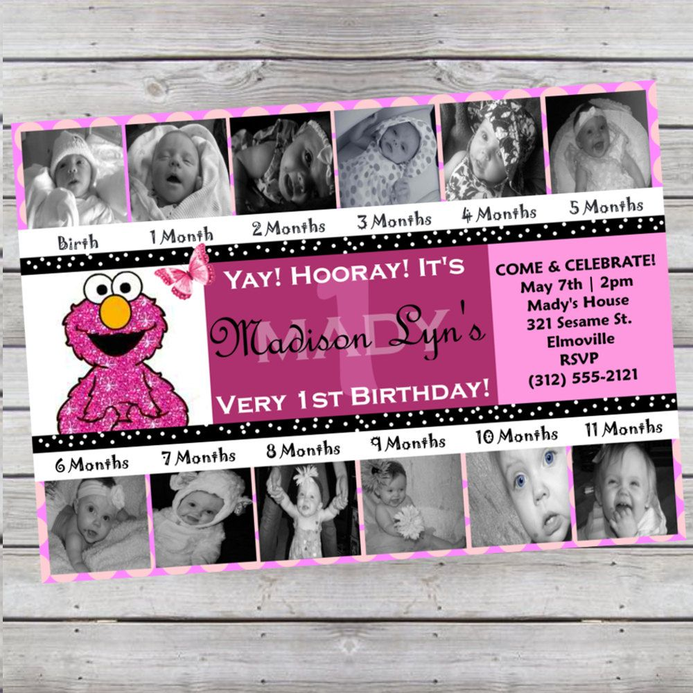 wording ideas forst birthday party invitation%0A Birthday Photo Invite  love the   look how Ive changed   very cute  considering this