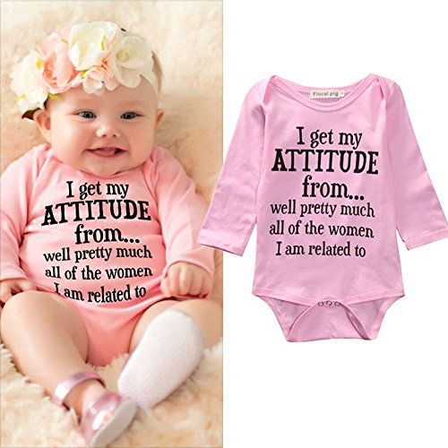4bf8f1bf0 Newborn Infant Baby Girls Cotton Bodysuit Romper Jumpsuit Clothes ...