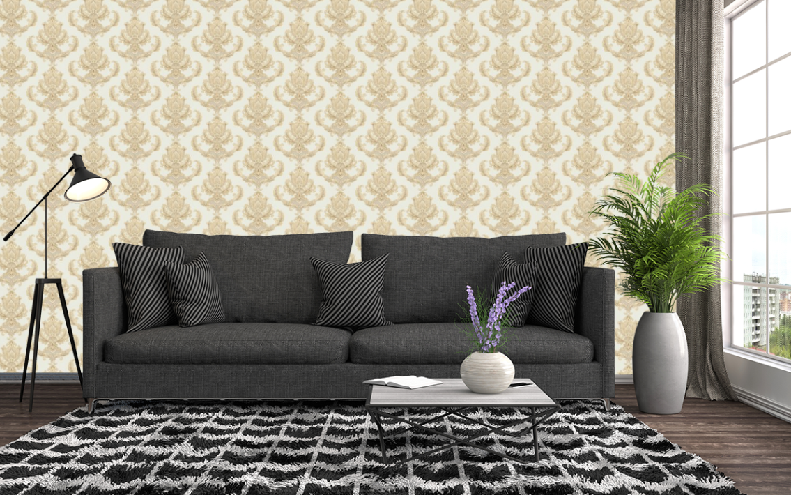 Home interior design farbkombinationen manela col  barock tapeten  pinterest  shopping