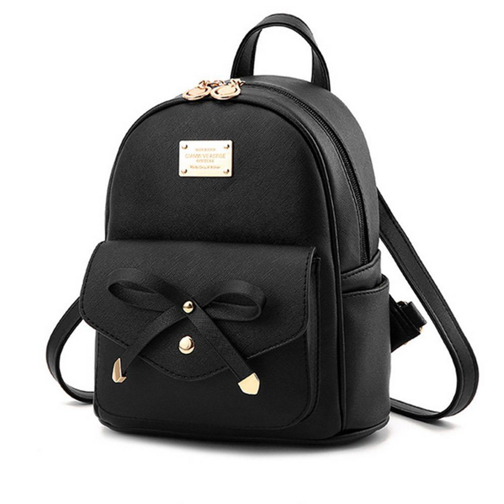 d72415603343 Mini Backpack Faux Leather Bag Women Fashion Small Daypacks Girls Purse   LCFUN  Backpack