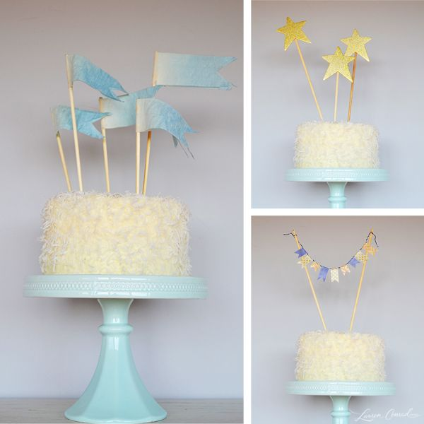 easy diy wedding cake toppers diy three and easy cake toppers third cake and 13810