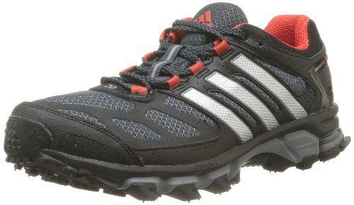 Vandalir Endurecer Factura  adidas Performance Mens Response Trail 20 M Running Shoes D66514 Black  I/Metallic Silver/Hi Res Red 6 UK, 39 EU… | Running shoes for men, Running  shoes, Men's shoes