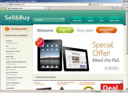 Template 31027 Web Design Homepage Template Professional Web Design