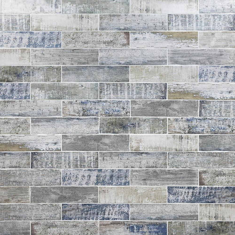 Ivy Hill Tile Strait Wood 3 In X 12 In 8mm Polished Ceramic Subway Wall Tile 22 Piece 5 38 Sq Ft Box Ext3rd100 Wall Tiles Ivy Hill Tile Polish Ceramics