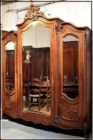 Incroyable Armoire Louis XV Style