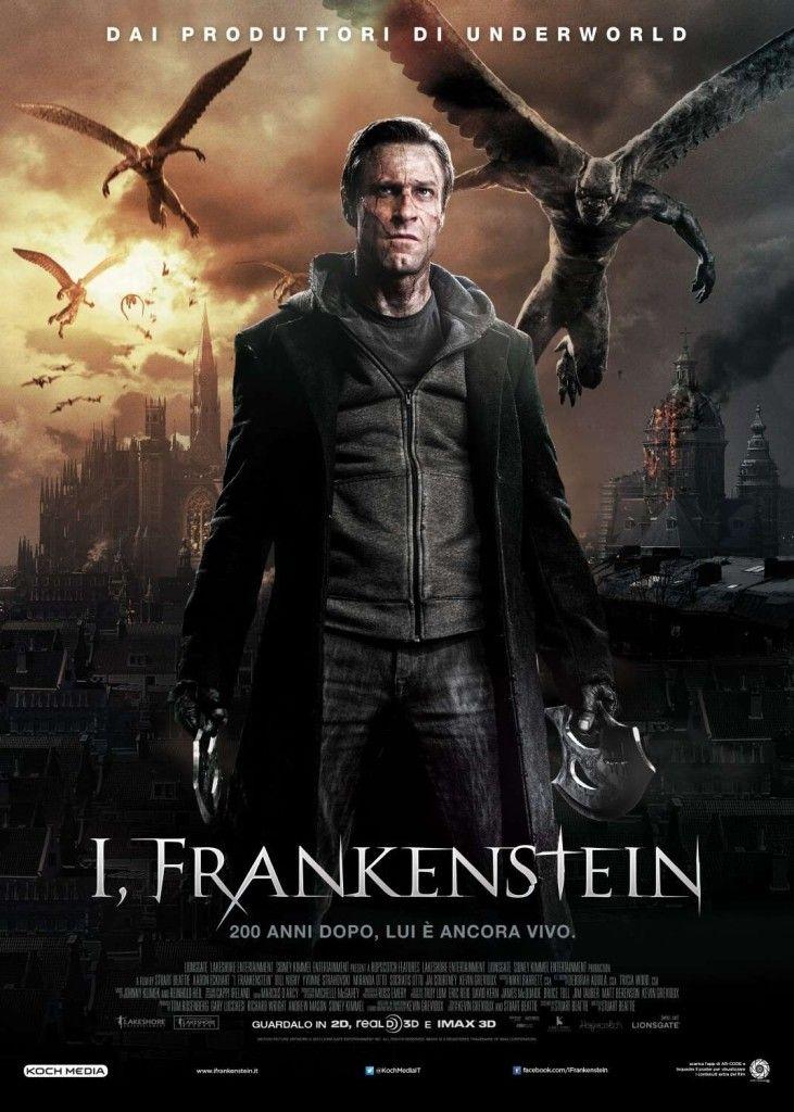 I Frankenstein Ver Pelicula De Terror Peliculas De Terror Frankenstein