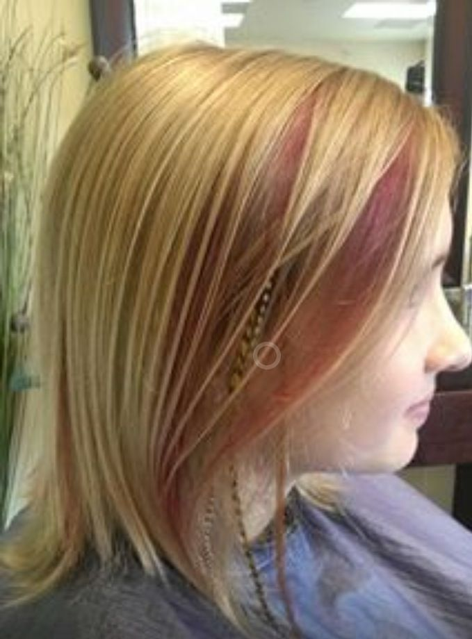 what color feather extensions for red hair