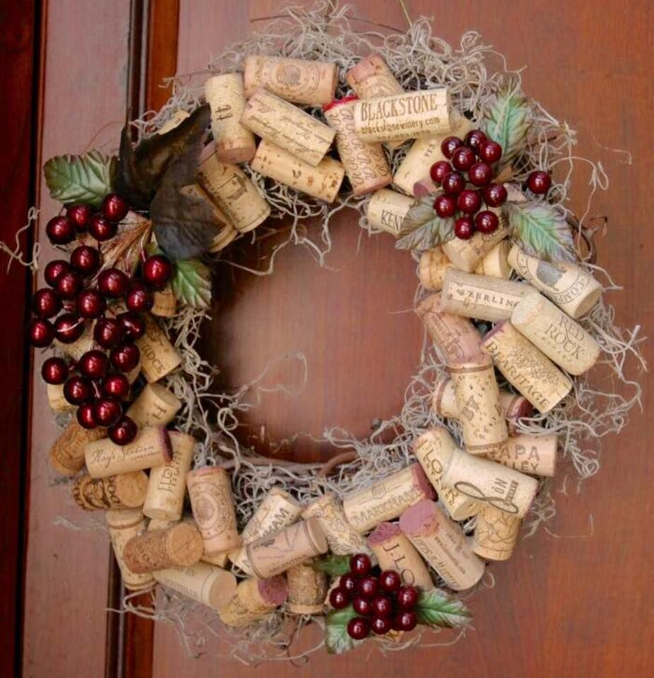 Wine Cork Art: Pin By Caitlyn Hurley On Fall Decorations