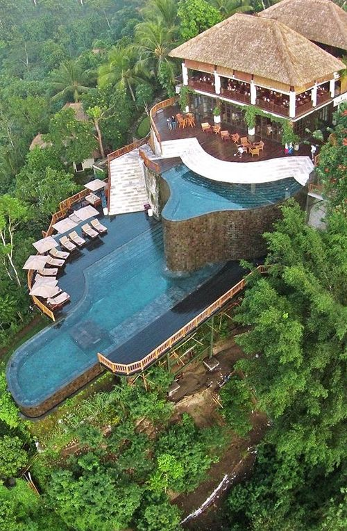 Hanging Gardens Resort Bali Indonesia Most Wonderful