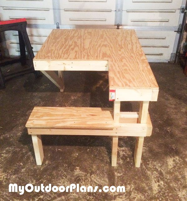 Plywood Shooting Bench