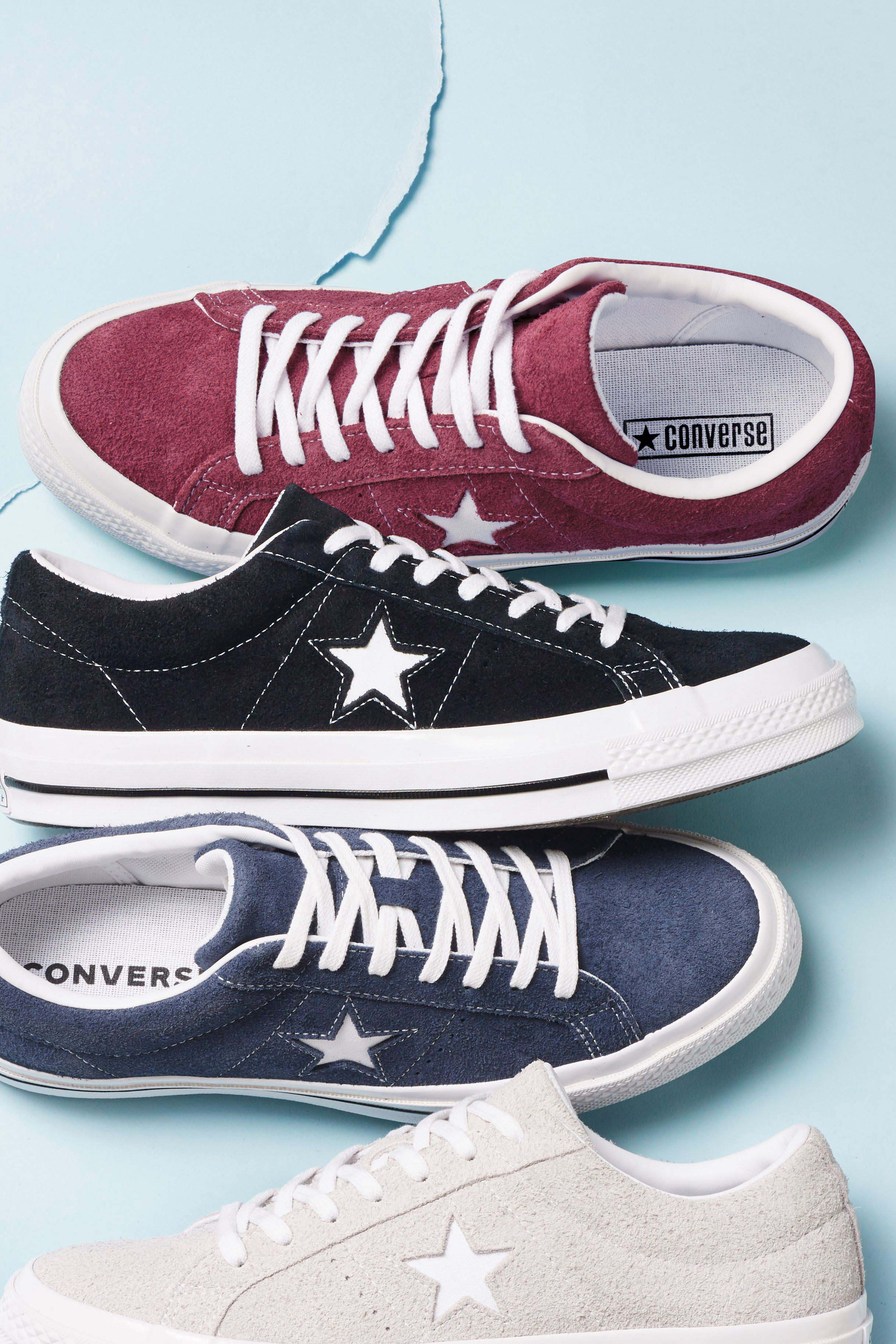 e86759a6b008 Mens Converse One Star Ox - Red in 2019