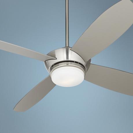 """52"""" Casa Vieja Veridian Brushed Nickel Ceiling Fan ..."""