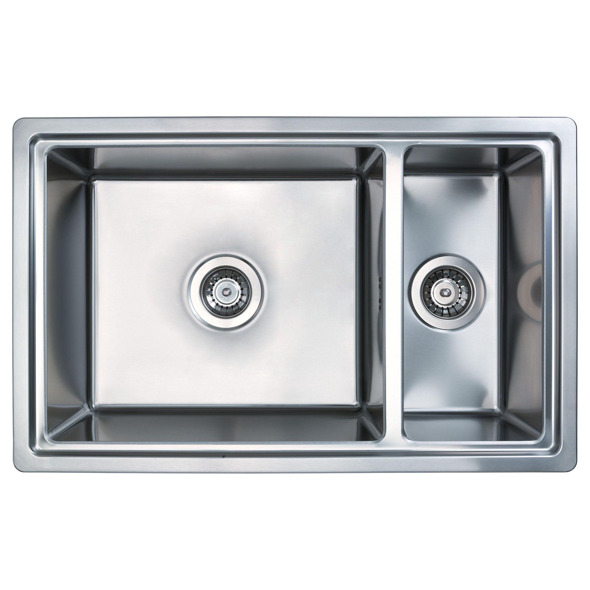 BREDSKÄR Einbauspüle, 1 1/2 Becken - IKEA | Kitchen | Pinterest | Küche