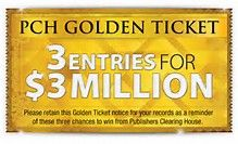 Image result for pch 10 million sweepstakes entry | Are you ready to