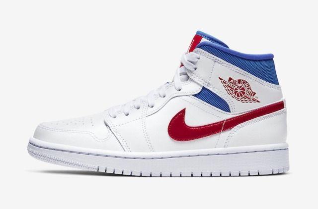 Nike Air Jordan 1 Mid Usa Sapatos