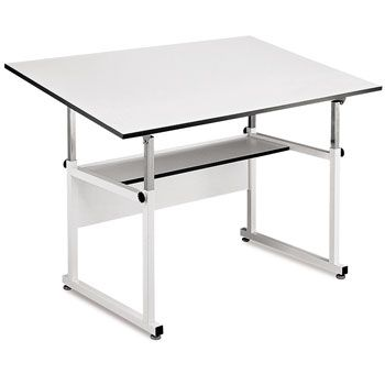 Save On Discount Alvin Workmaster Drafting Table, White & More at ...