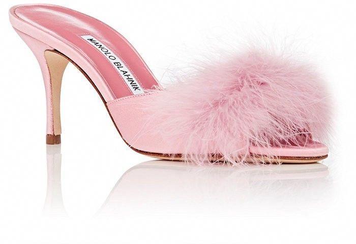 fd72f90063355 Manolo Blahnik Lima Slide Sandals - 9.5 Pink #ManoloblahnikHeels ...