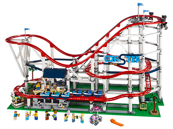 Roller Coaster 10261 Creator Expert Buy Online At The Official Lego Shop Us Lego Sets Lego Creator