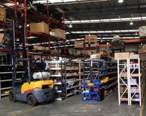 Lencrow Forklifts Spare Parts Warehouse Melbourne