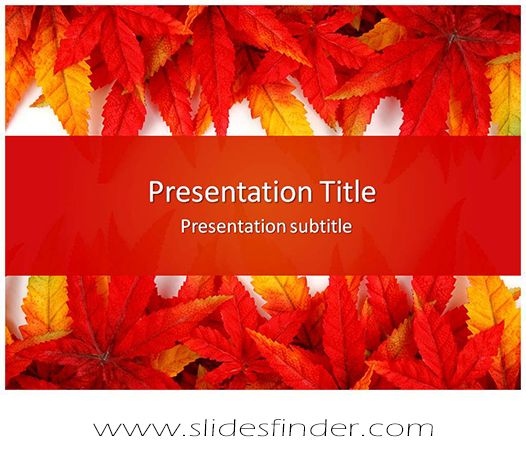 Create effective Leaf Abstract #ppt #presentation with our #Free - abstract powerpoint template