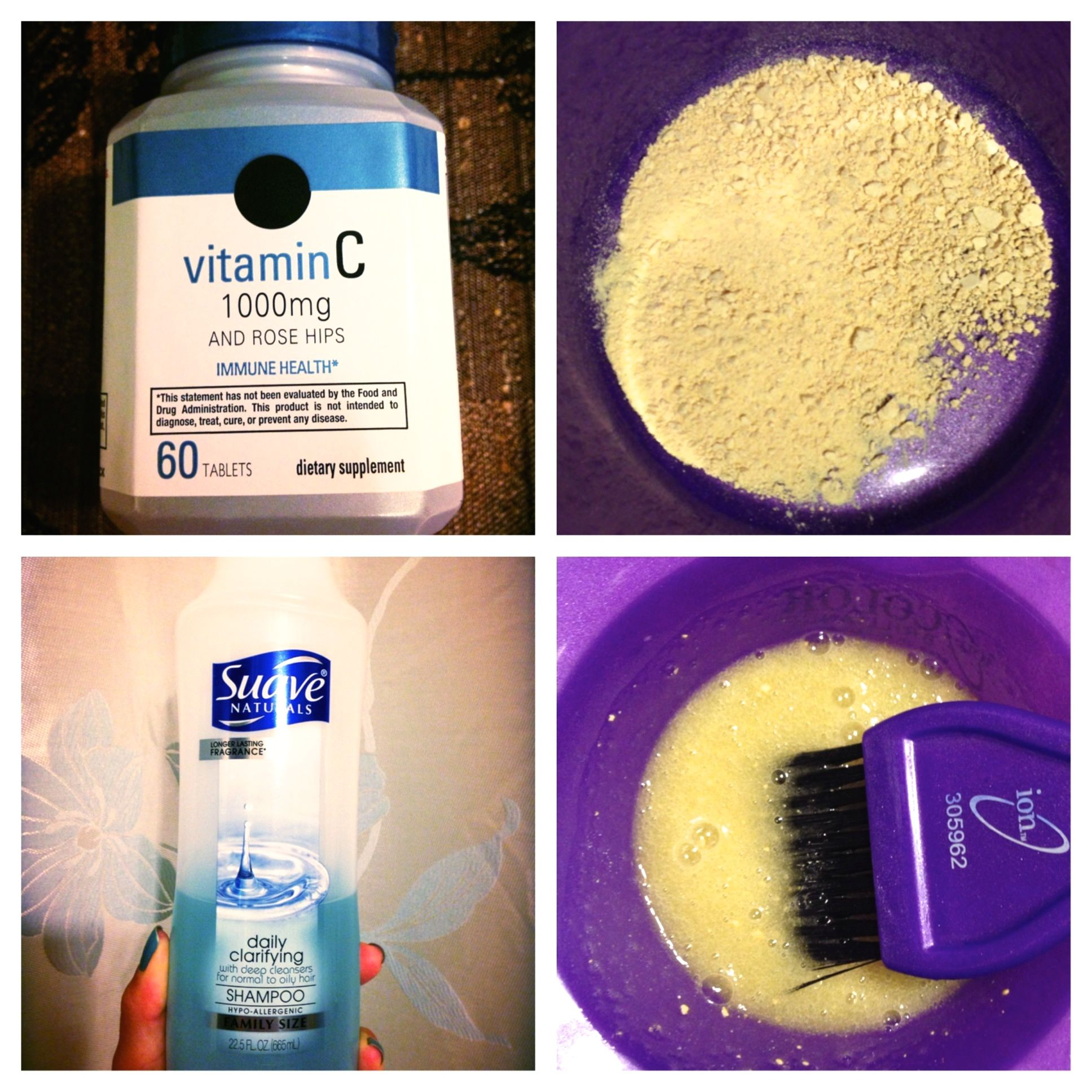 Vitamin C Method For Removing Demi Permanent Hair Dye Hair Color Remover Permanent Hair Dye Hair Dye Removal