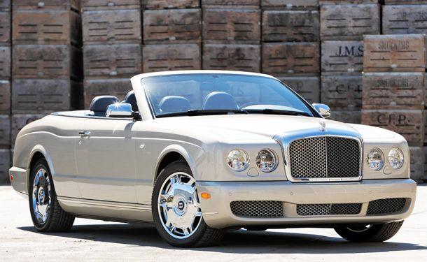 Pebble Beach 2012 Bentley Mulsanne Convertible Concept