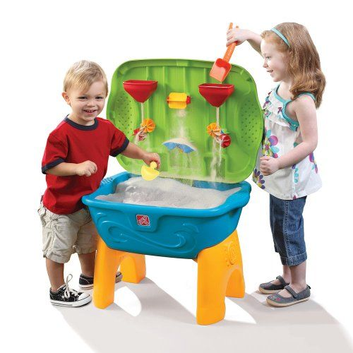The Step 2 Sand Tastic Activity Table Prefer The Stands