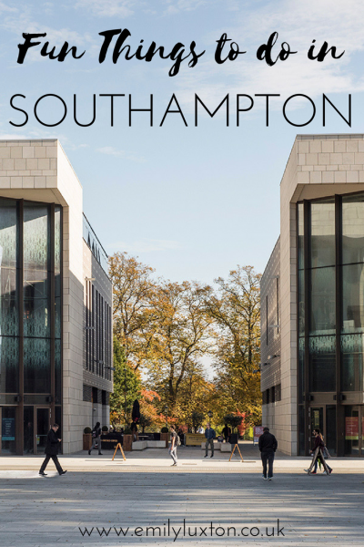 fun things to do in Southampton