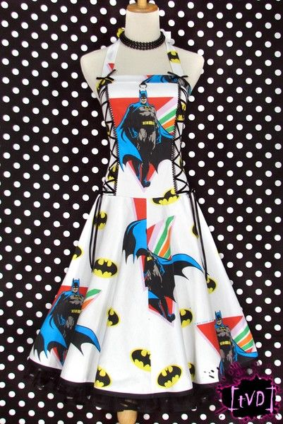 Vintage Batman Dress