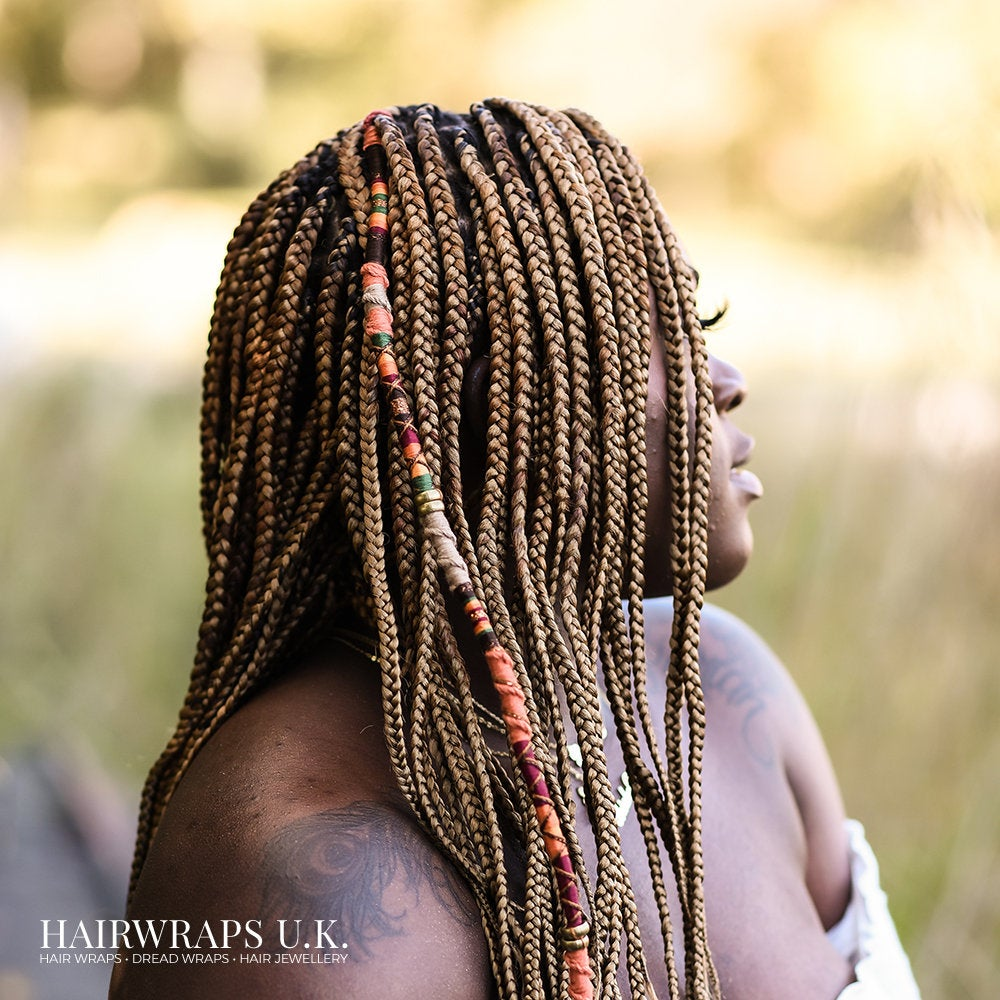 Thick dreadlock wrap EARTH TRIBE Etsy in 2020 Hair