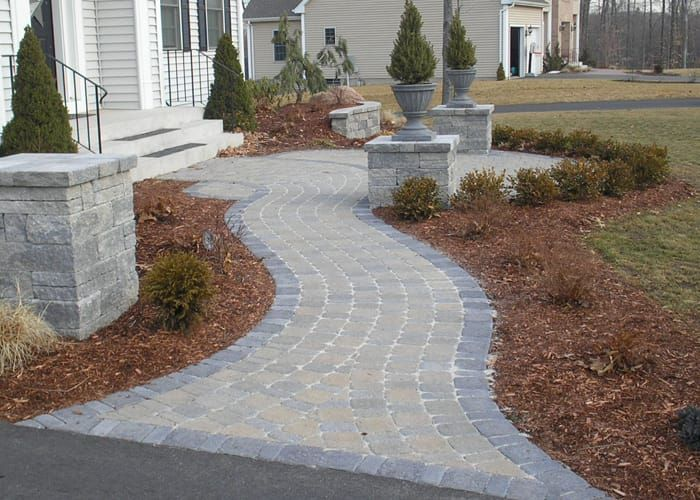 Pavers on Walkways Design Ideas - #PaverHouse http://www ...