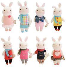 T632x conejo de peluche conejos muñeca animal de peluche 8 tipos de Metoo s050