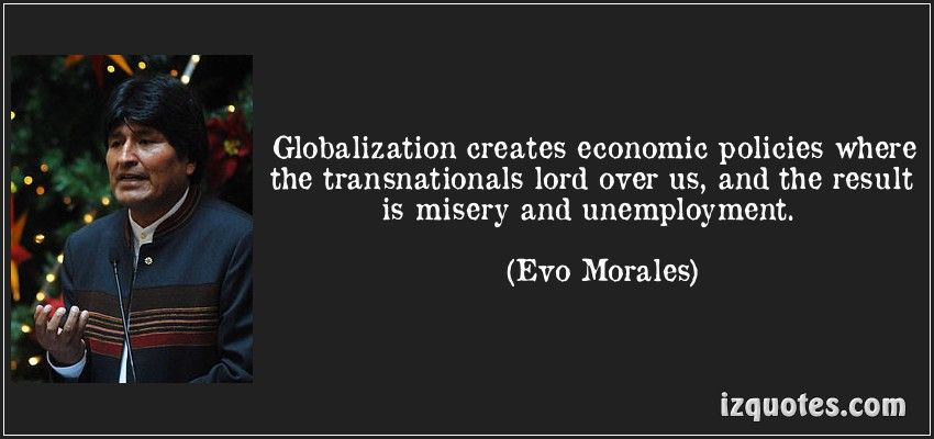 Anti Globalization Quotes - Google Search