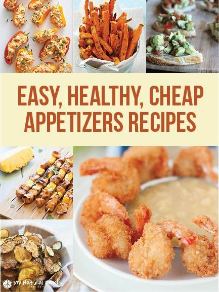 Easy cheap appetizer recipes