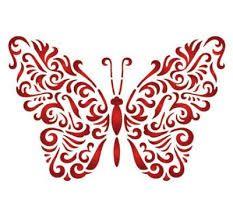 Afbeeldingsresultaat voor sjabloon vlinder