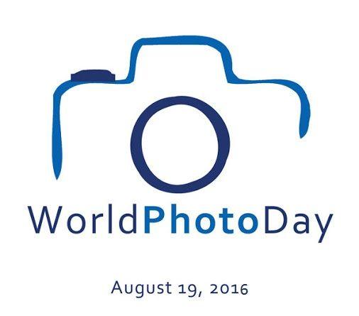 Worldphotographyday Today Photography Turns 177 Years Old Photography Logo Hd Photography Logos Photo Logo Design