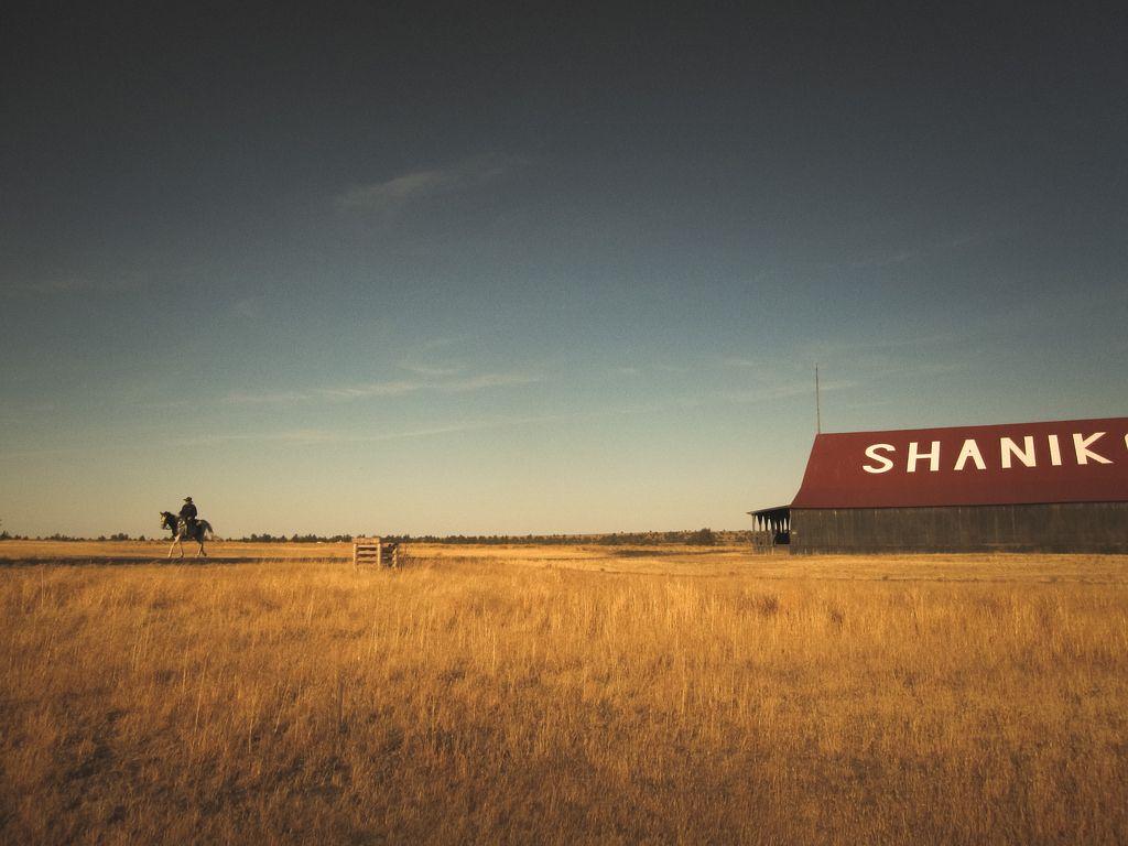 Shaniko, Oregon I was shooting the barn at Shaniko when I