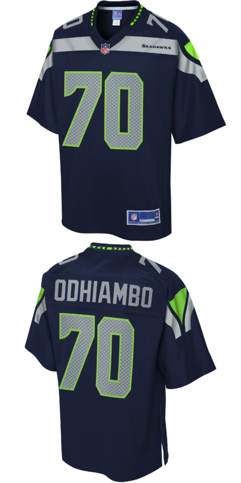 competitive price 423e5 b624f UP TO 70% OFF. Rees Odhiambo Seattle Seahawks NFL Pro Line ...