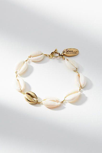 Lena Bernard Cowrie Shell Bracelet Jewelrywardrobejewellery Shell Bracelet Cowrie Shell Jewelry Shell Necklaces