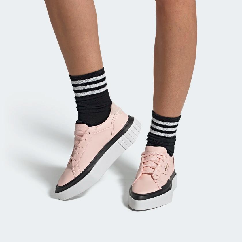 adidas Hypersleek Shoes | Pink adidas, Shoes, Sneakers