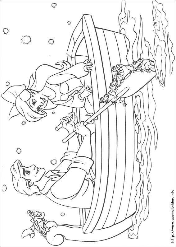Arielle Die Meerjungfrau Malvorlagen Disney Prinzessin