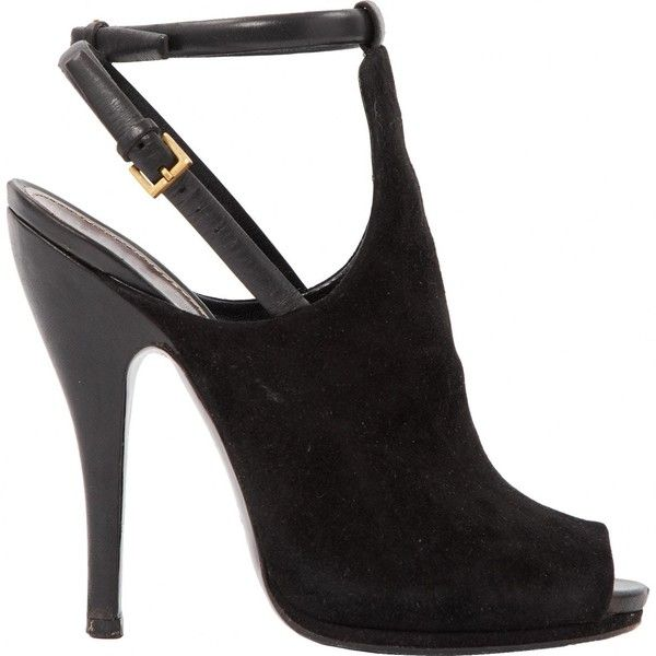 Pre-owned - Black Suede High heel Gucci yp0YVZt
