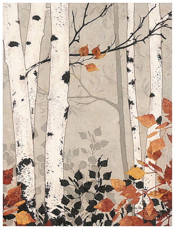 Birch Damask Art Print at AllPosters.com