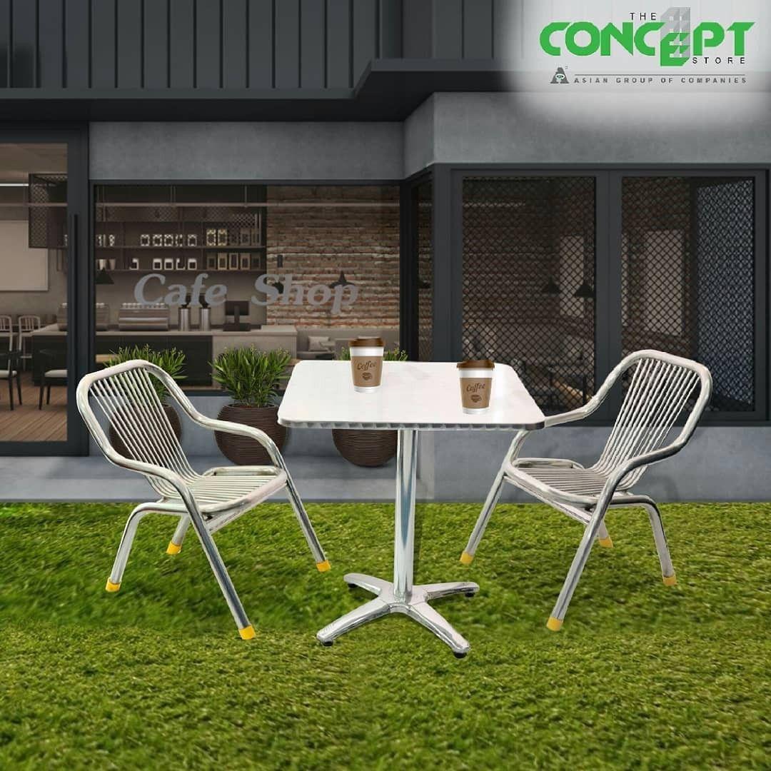 outdoor coffee table coffee shop